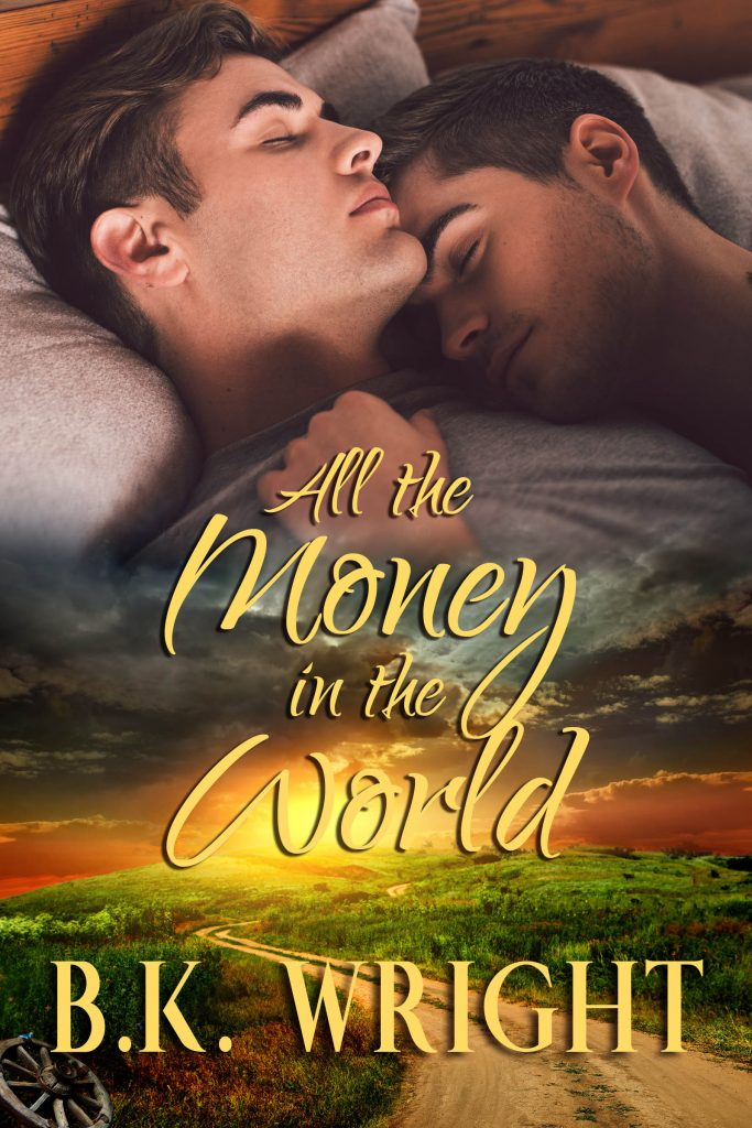 Book Cover by Chloe Belle Arts for All the Money in the World by B.K. Wright