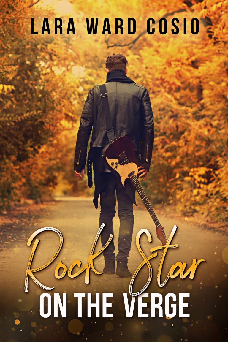 Book Cover Design by Chloe Belle Arts for Rock Star on the Verge by Lara Ward Cosio