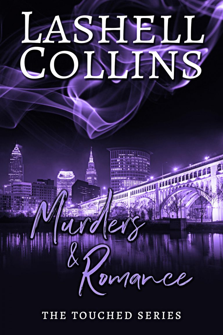 Paranormal Suspense Romance Book Cover by Chloe Belle Arts for Murders & Romance by Lashell Collins