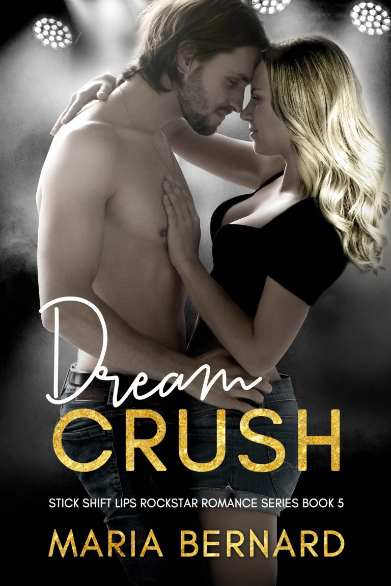 Book Cover Design by Chloe Belle Arts for Dream Crush by Maria Bernard