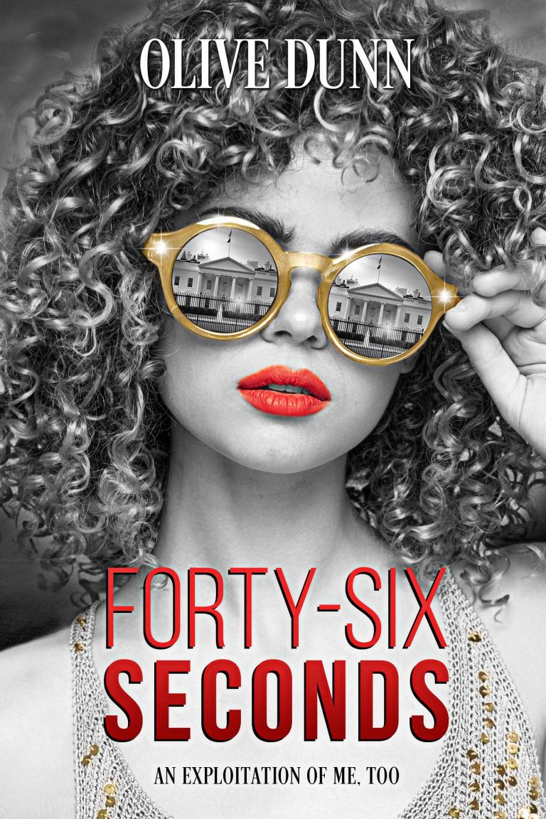 Book Cover Design by Chloe Belle Arts for Forty Six Seconds by Olive Dunn