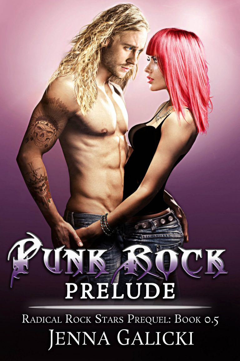 Book Cover Design by Chloe Belle Arts for Punk Rock Prelude by Jenna Galicki