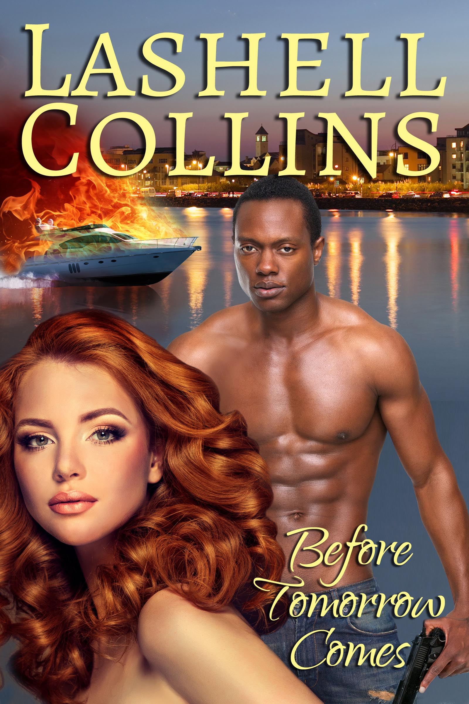 Romantic Suspense Book Cover by Lashell Collins
