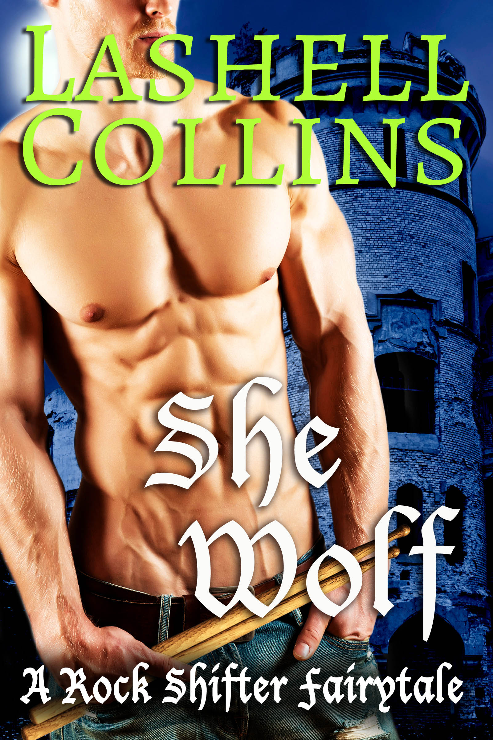 Shifter Cover by Chloe Belle Arts
