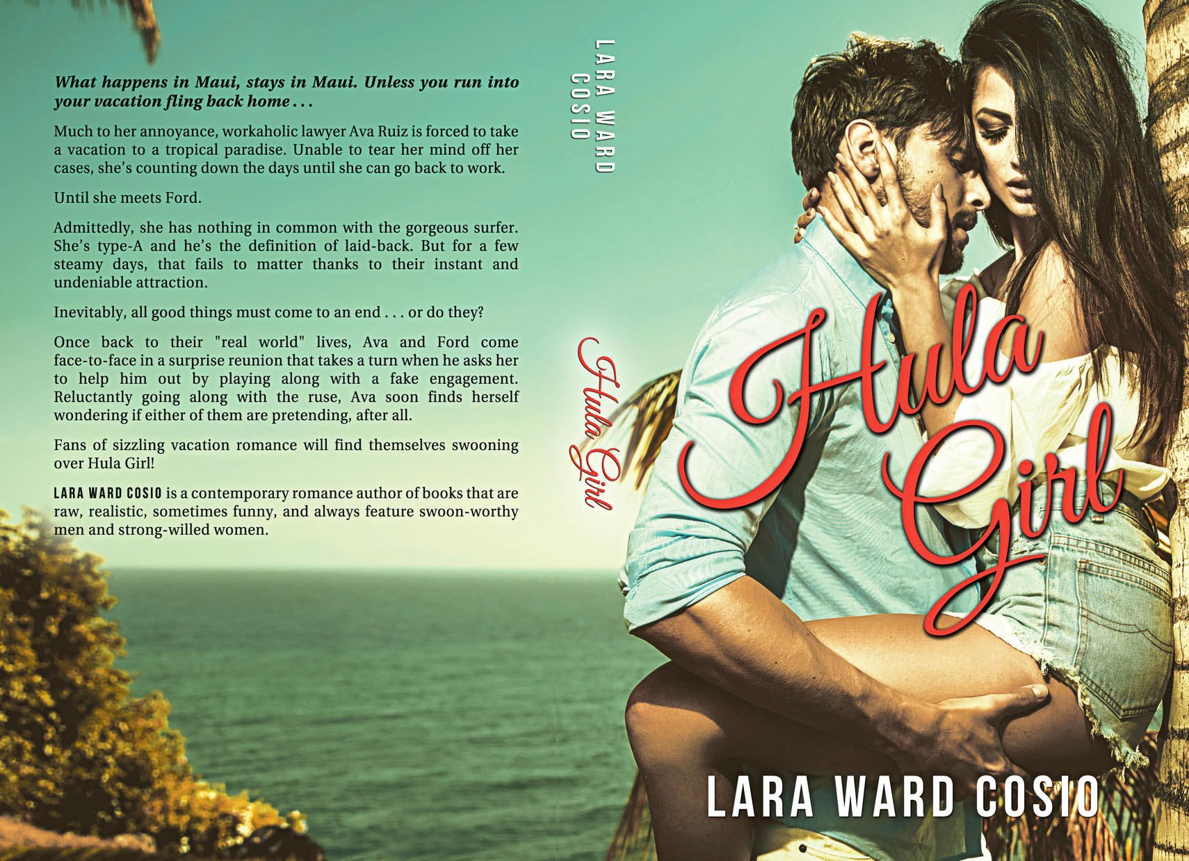 Hula Girl Paperback Cover
