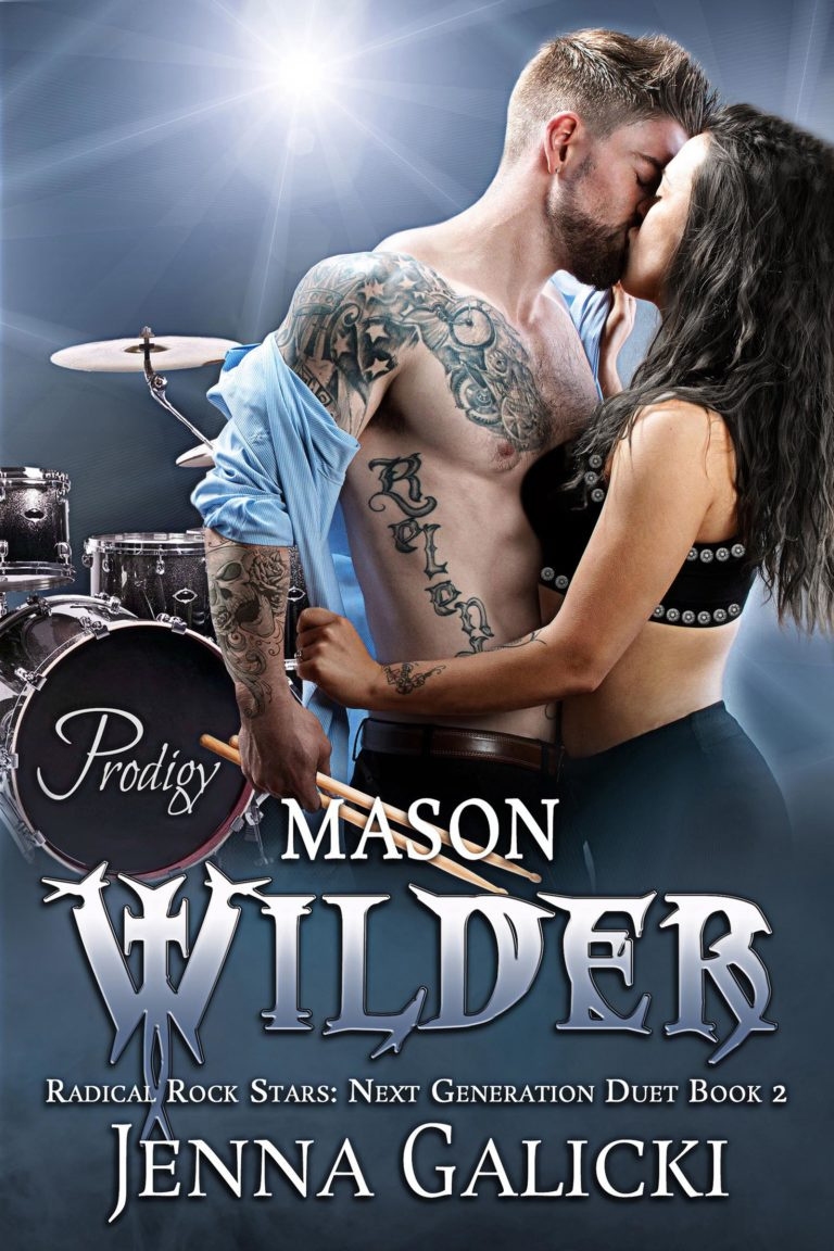 Rockstar Romance Book Cover Design