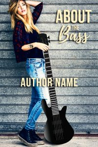 New Adult, Rock Star Romance Book Cover Design