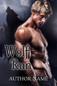 Paranormal Romance Book Cover, Shifter Romance Book Cover