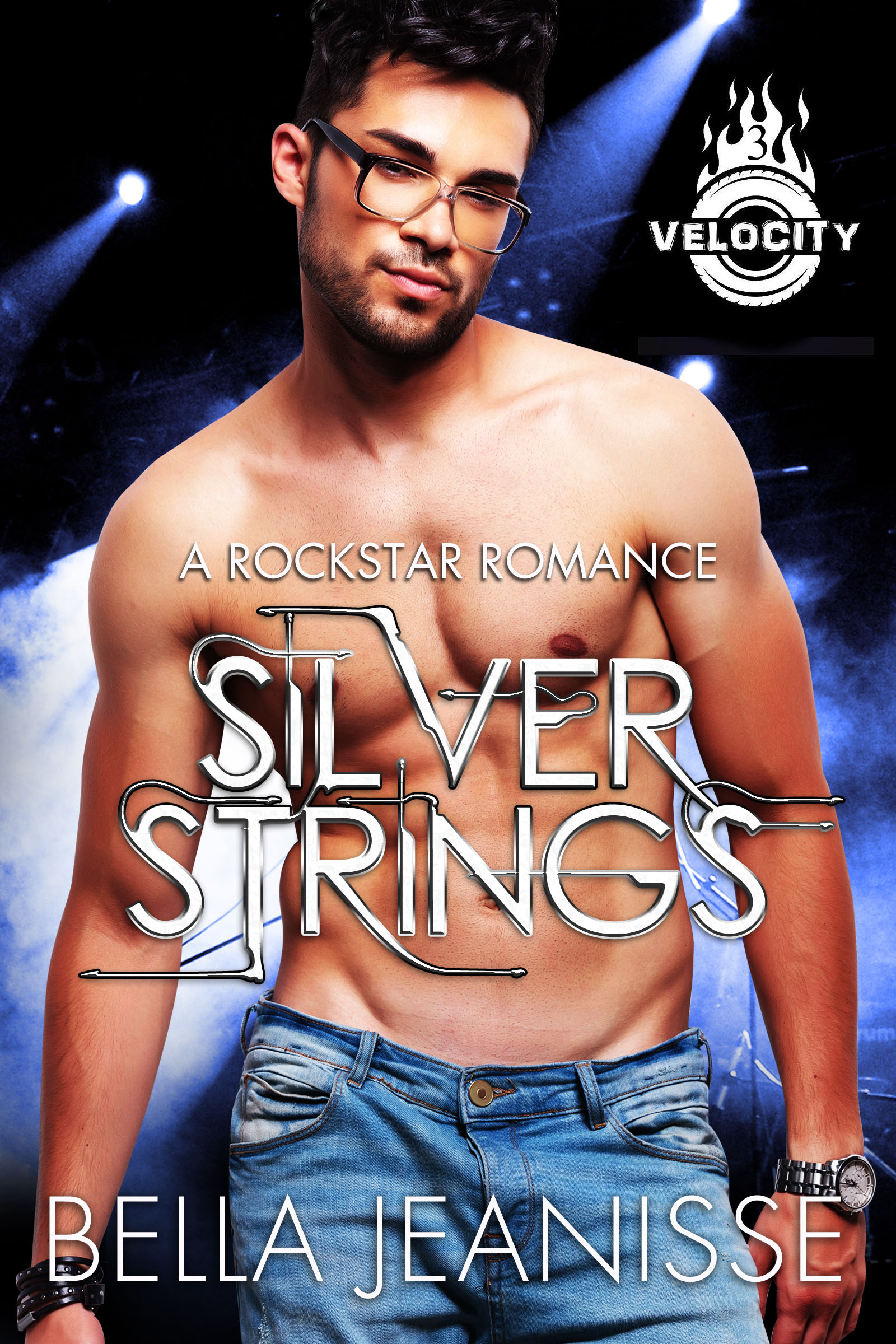 Silver Strings Paperback Book Cover