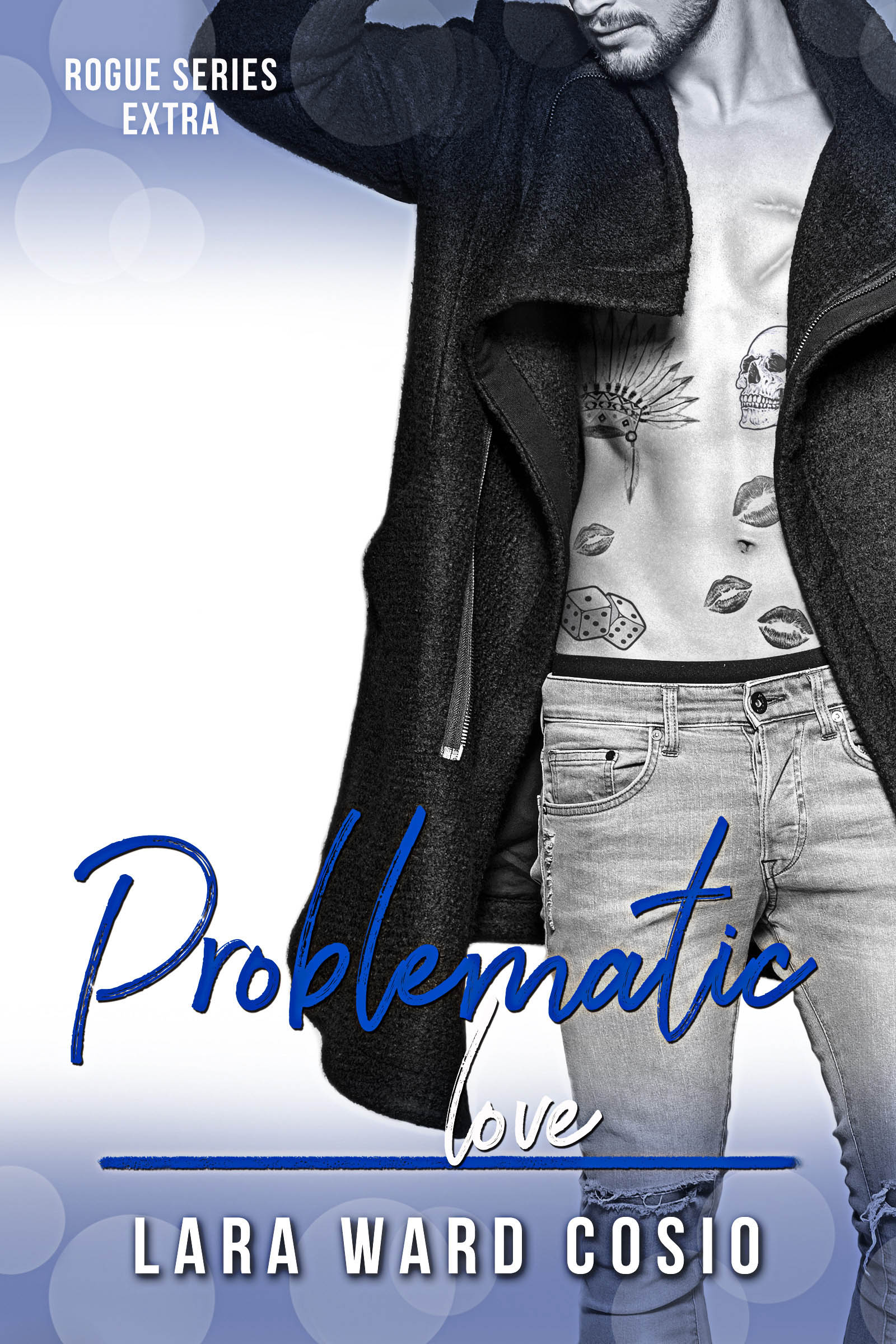 Book Cover by Chloe Belle Arts for Problematic Love by Lara Ward Cosio