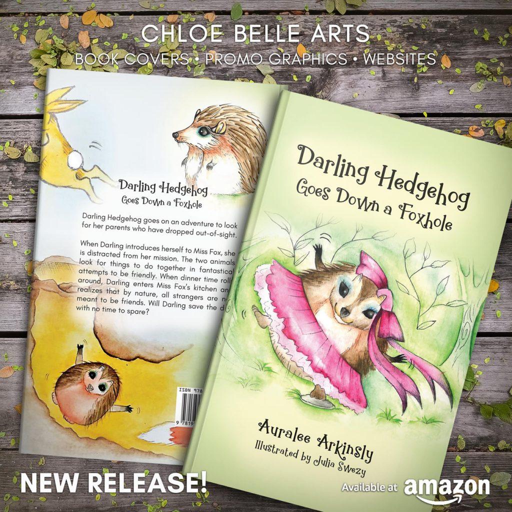 Darling Hedgehog Goes Down a Foxhole