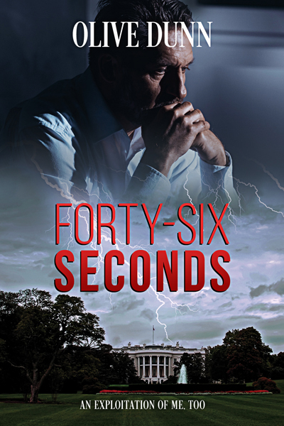 Book Cover Design by Chloe Belle Arts for On the Forty-Six Seconds by Olive Dunn