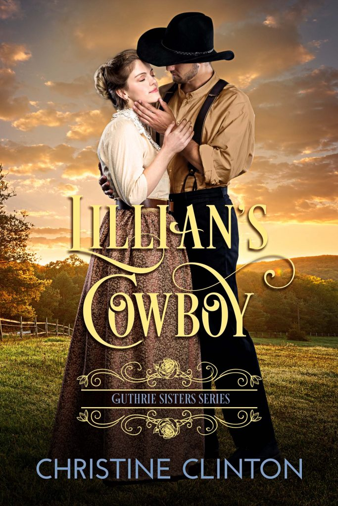 Book Cover Design by Chloe Belle Arts for Lillian's Cowboy by Christine Clinton