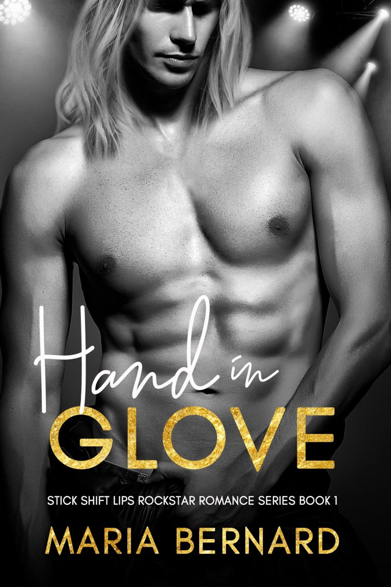Book Cover Design by Chloe Belle Arts for Hand in Glove by Maria Bernard