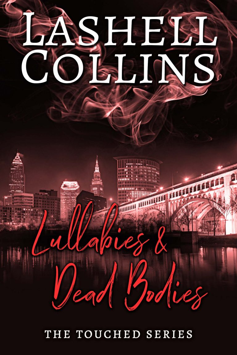 Paranormal Suspense Romance Book Cover by Chloe Belle Arts for Lullabies & Dead Bodies by Lashell Collins