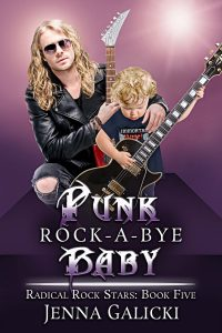 Book Cover by Chloe Belle Arts for Punk Rock-A-Bye-Baby by Jenna Galicki