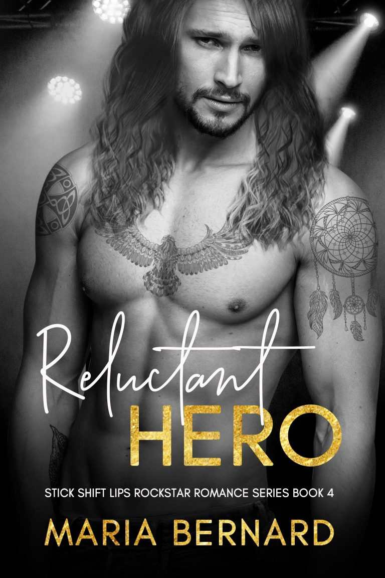 Book Cover Design by Chloe Belle Arts for Releuctant Hero by Maria Bernard