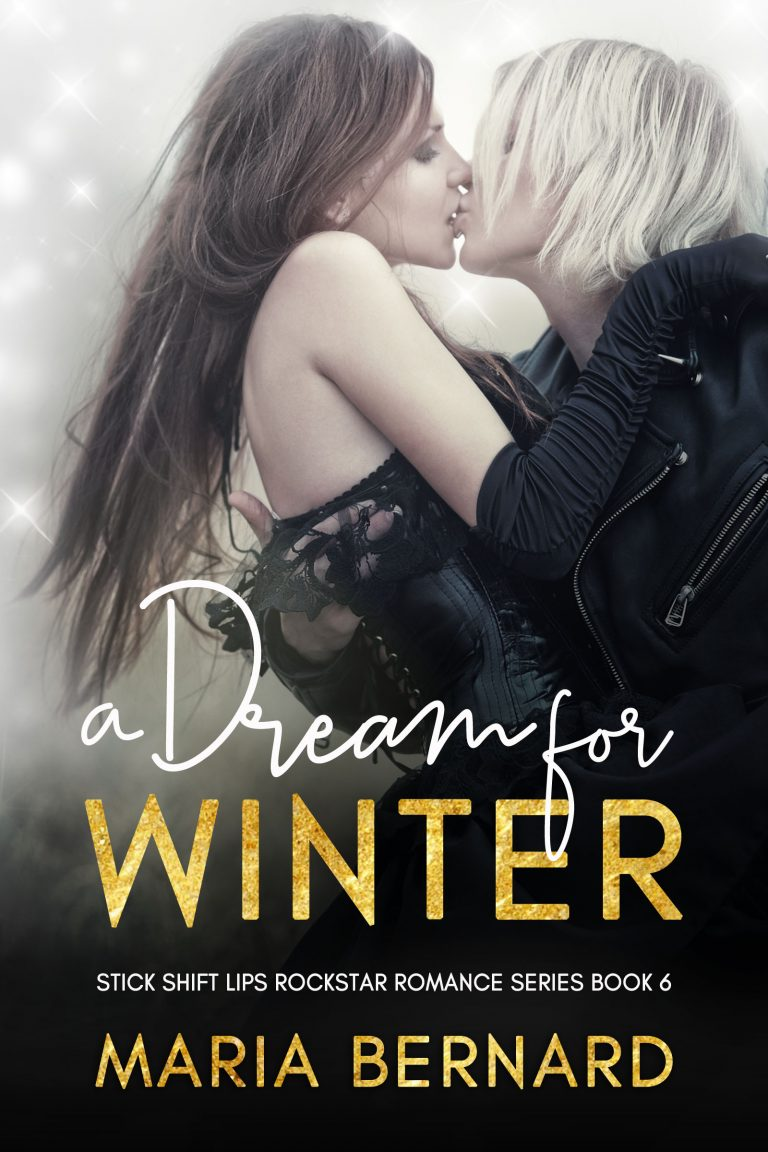 Book Cover Design by Chloe Belle Arts for A Dream for Winter by Maria Bernard