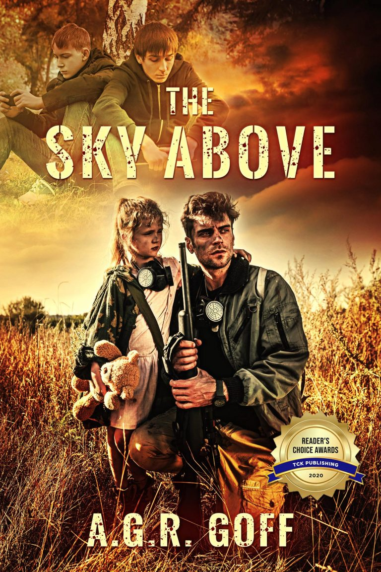 Book Cover by Chloe Belle Arts for The Sky Above by AGR Goff