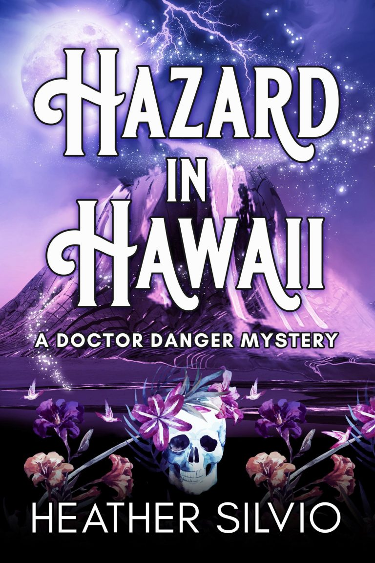 Book Cover Design by Chloe Belle Arts for Hazard in Hawaii by Heather Silvio